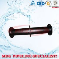 sell ductile iron puddle flange pipe