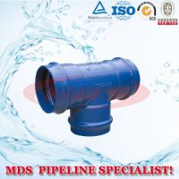 selll ductile iron fittings for pvc pipes