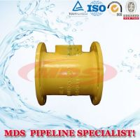 sell flange spigot pipe fitting