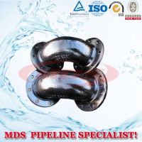 sell ductile iron double flange pipe fitting