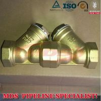 sell DN40 PN20 Y Type Brass Strainer