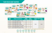 Selling offer on Slipp Bebe Diapers for infants and babies