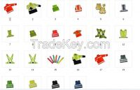 bicycle reflective material
