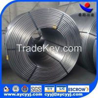 CaSi /CaFe alloy cored wire