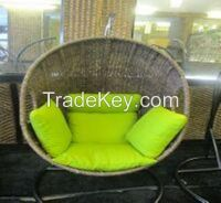 rattan hyacinth egg chair