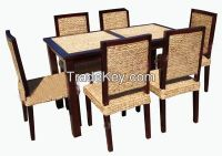 Rattan and Hyacinth Chairs