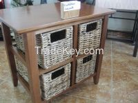 Rattan & Hyacinth Cabinets