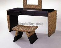 rattan hyacinth table