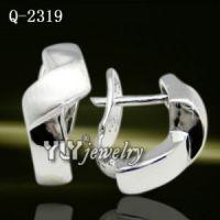 Latest Design Sterling Silver Earrings Hot Sale