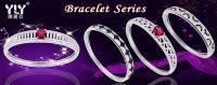 Latest Design Sterling Silver Micro Pave Bracelets