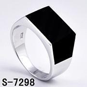 Wholesale New Design Sterling Silver Rhodium Men's Ring