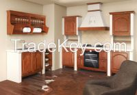 2014 OPPEIN PP Wrapped Kitchen Cabinet Wooden Cabinets Guangzhou Export