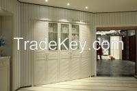 2014 New Design Open Cheap Corner Bedroom Wooden wardrobe Designs