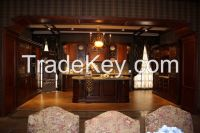 2014 OPPEIN Solid Wood Kitchen Cabinet New Arrival Custom Design