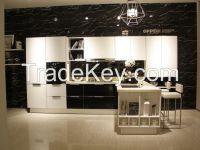 OPPEIN Melamine Kitchen Cabinet Luxury Series Cabinets Canton Manufacture