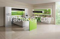 OPPEIN Laminate Kitchen Cabinet PVC Finish Cabinets Interior Home Design