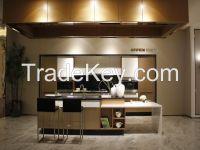 OPPEIN Metal Foil Kitchen Cabinet Wooden Cabinets Interior Home Design