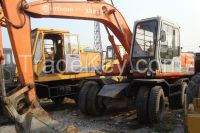 Used Wheeled Excavators Hitachi EX 100WD-1