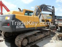 Used Crawler Excavators VOLVO EC 210B LC