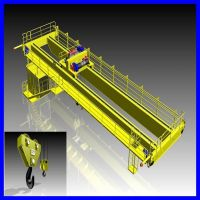 20T European double girder Bridge crane