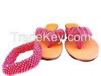 Fashionable slip-ons with matching bangle
