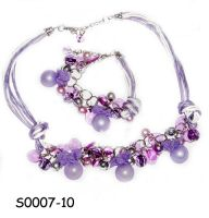 Sell Fashion Handmade Necklace Set