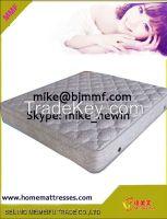 Pillow top memory foam spring mattress
