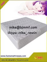Firm Mattress Size Promotion durable tricot fabric cover pocket spring mattress