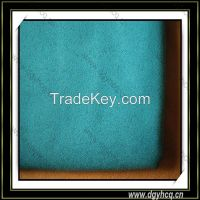 flame retardant elastic microfiber suede leather for safety glove