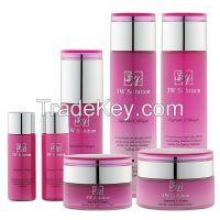 Cosmetics, anti wrinkle cream, anti-aging essence, firming essence, collagen cream, moisturizer