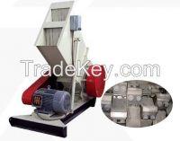 single recycled/waste plastic material shredder/grinder/shredding machine