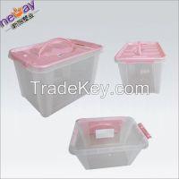 High quality clear plastic storage box