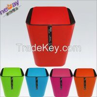 High quality colored trash can