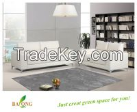 Modern White PU or Leather Sofa