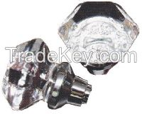 Crystal glass door knobs in more affordable price