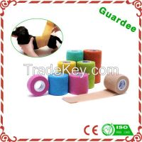 High Quality Colorful Latex Surgical Veterinary Cohesive Bandage