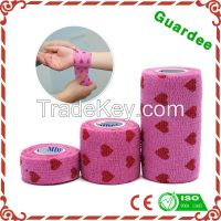 Colored Wound Printed Cohesive Bandage