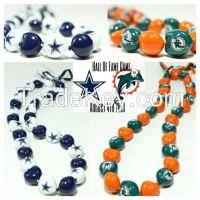 Custom Printed Kukui Nut Necklace