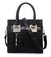 2015 fashionable and all-match style ladies leather handbags, attractive, durable