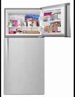 Wide Top Freezer Refrigerator