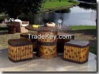 Luxury Bamboo Sofa Set 59-299 USD/Unit
