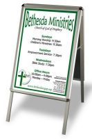 Sell aluminium frame posters stand