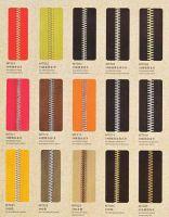 Sell zipper ,metal and nylon zipper