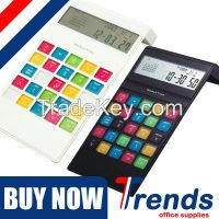 CE Rohs approved currency converter world time 8 digit electronic calculator