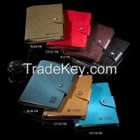 loose-leaf journal/wholesale leather journal/planner journal notebook
