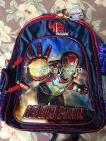 School Bags - Original & Branded (Ben10, Iron Man, Avengers, Mickey & Minnie, Dora, Ferrari)