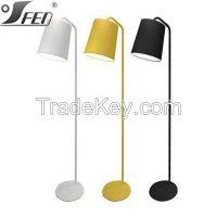Decoration reading & living aluminum lamp shade lights flooring