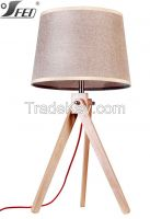 Modern and simple style elegant  wood restaurant table lights