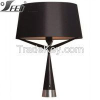 high quality elegant lamp table lighting Black