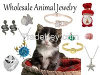 Wholesale, Animal  Fashion Jewelry, Sea Life and Insect Jewelry earrings, rings, bracelets, necklaces and Jewellery sets